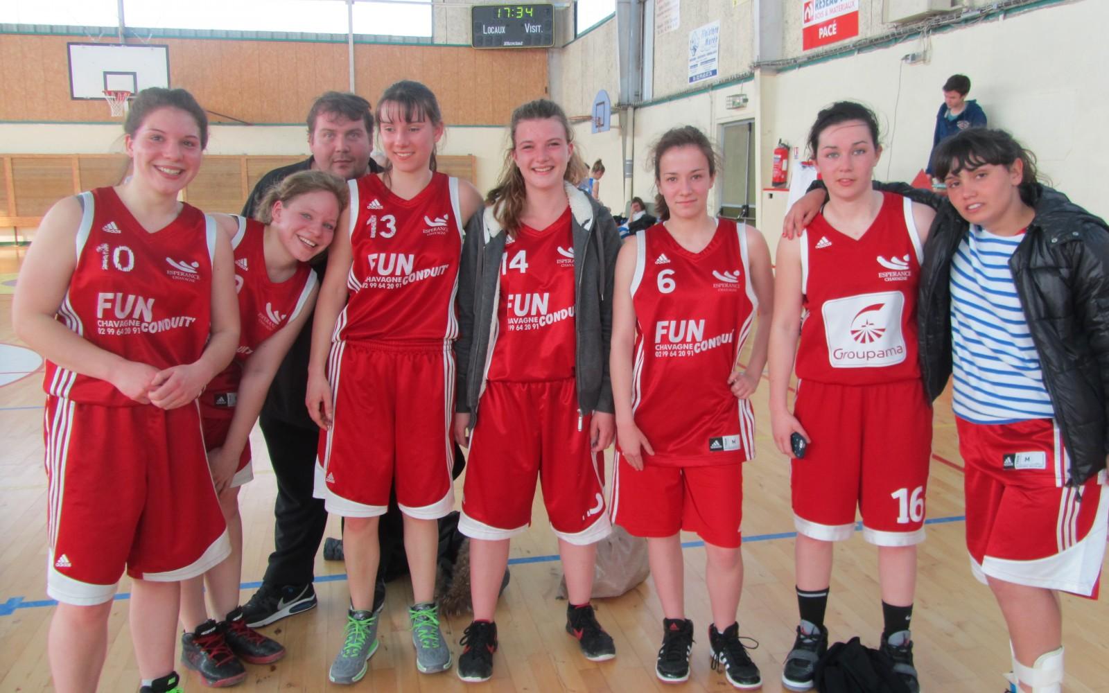 Basket – Seniors Filles 2