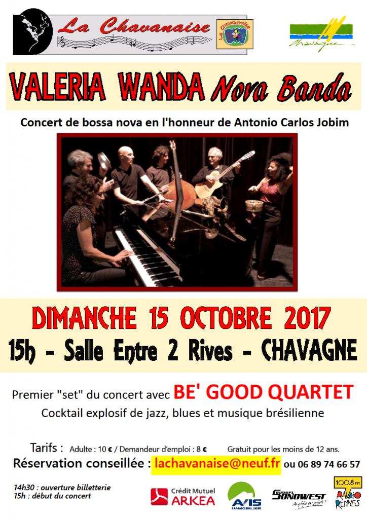 Affiche VWN Banda2017